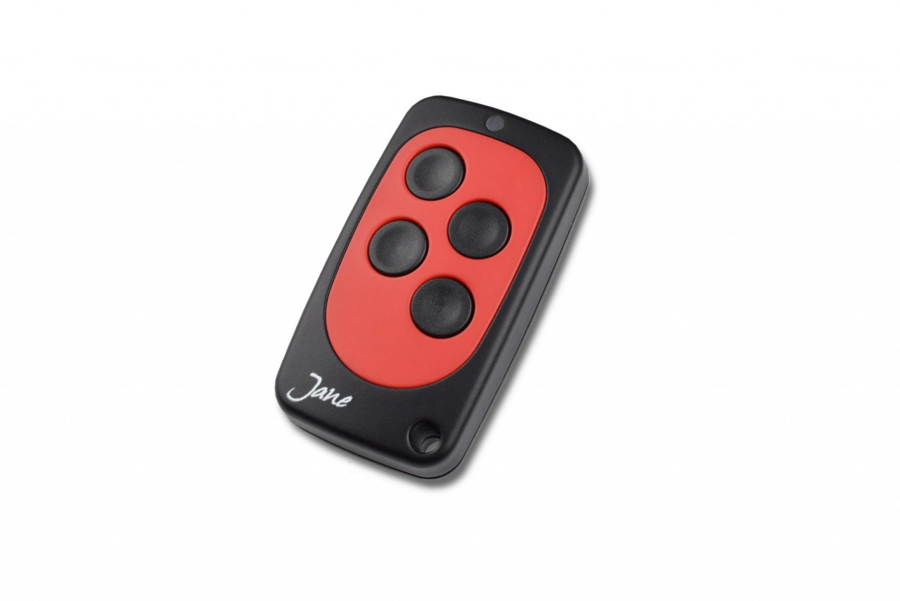 Schartec Jane V Universal Fixed Code Remote Control in Black