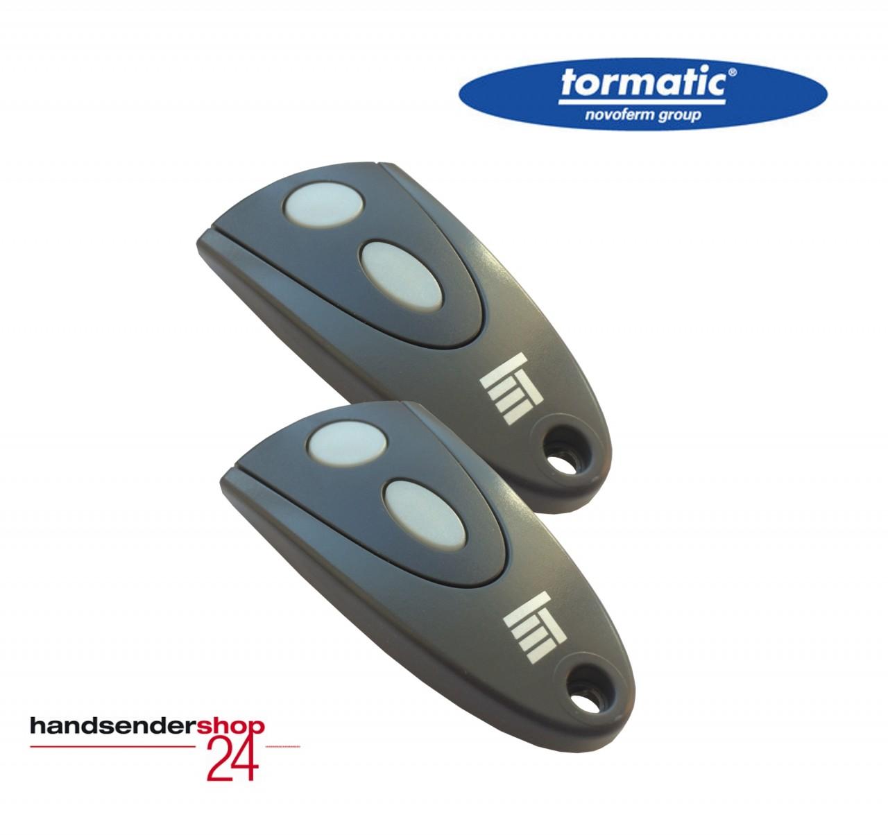 2 Stück Tormatic Handsender 502 MAX43-2 mit 433,92 MHz