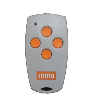 Roma 4-Befehl Handsender Silento mit 433,92 MHz