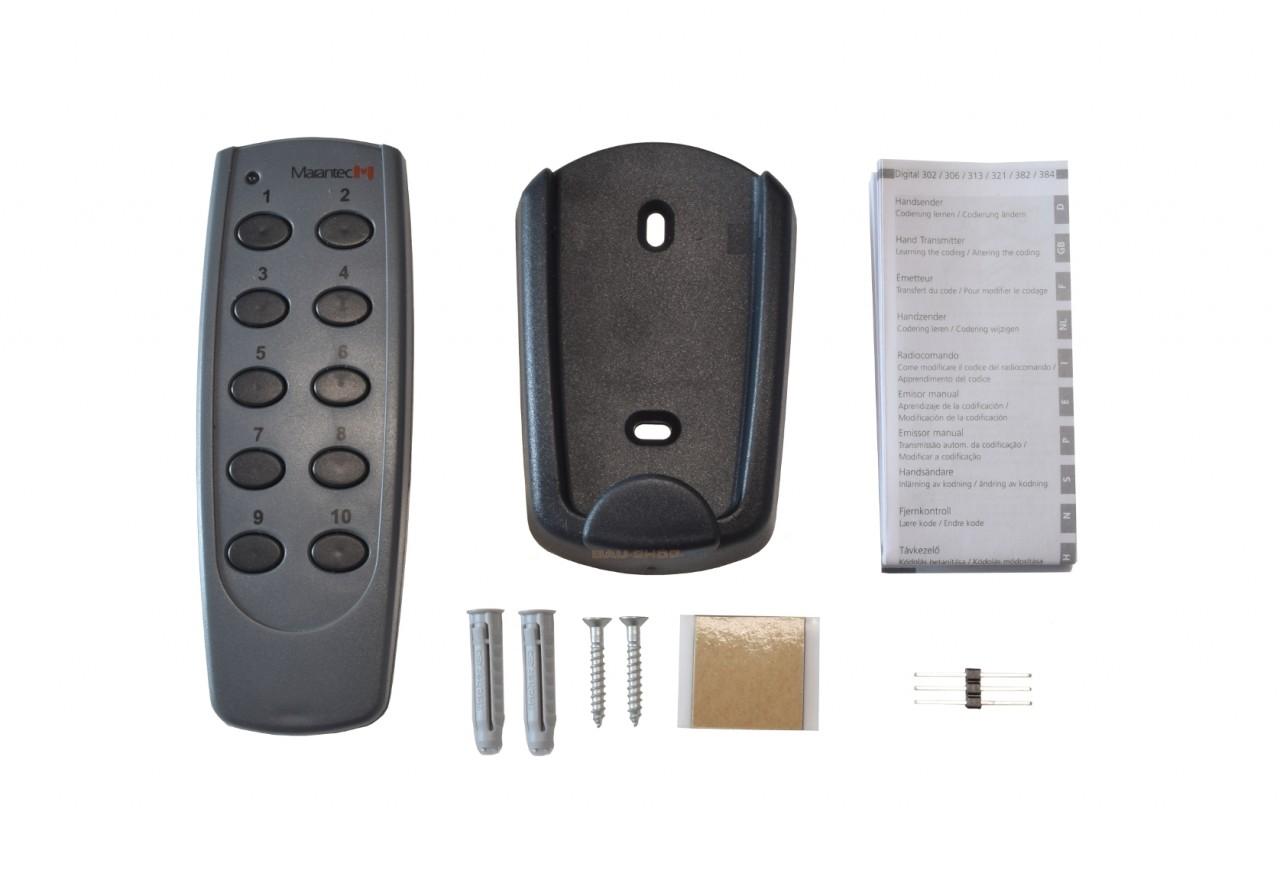Marantec Digital 306 10-Kanal Handsender 433,92 MHz