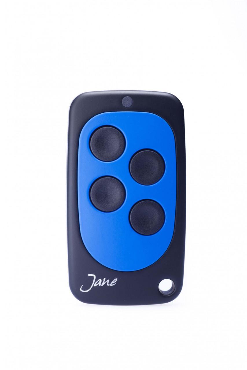 Schartec TOP01 Blau Universal Handsender 433 MHz - 868 MHz Festcode, Rollingcode und Keeloq