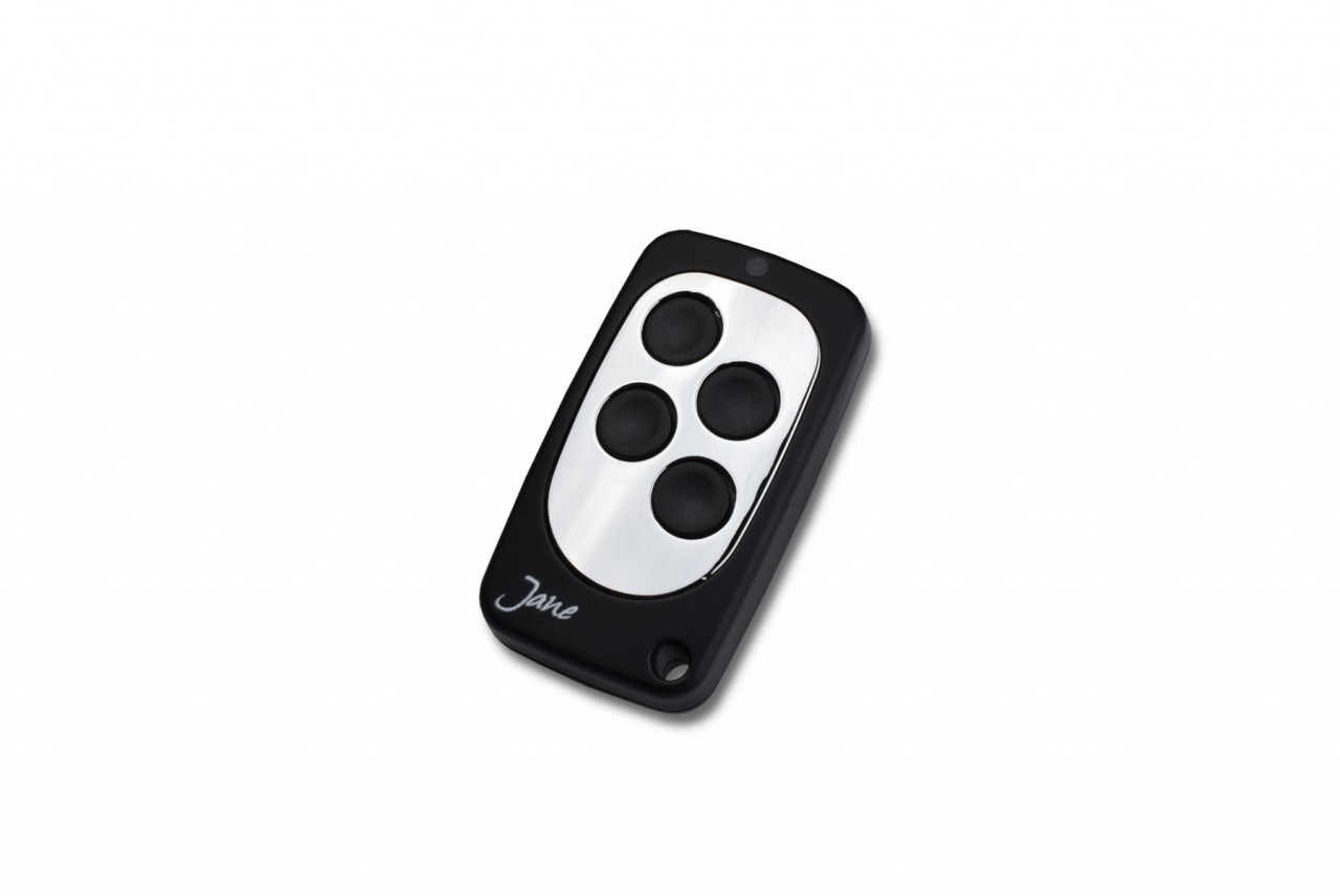 Schartec Jane V Universal Fixed Code Remote Control in Black