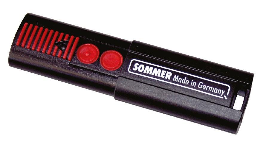 Sommer 2-Befehl Handsender 868,8 MHz
