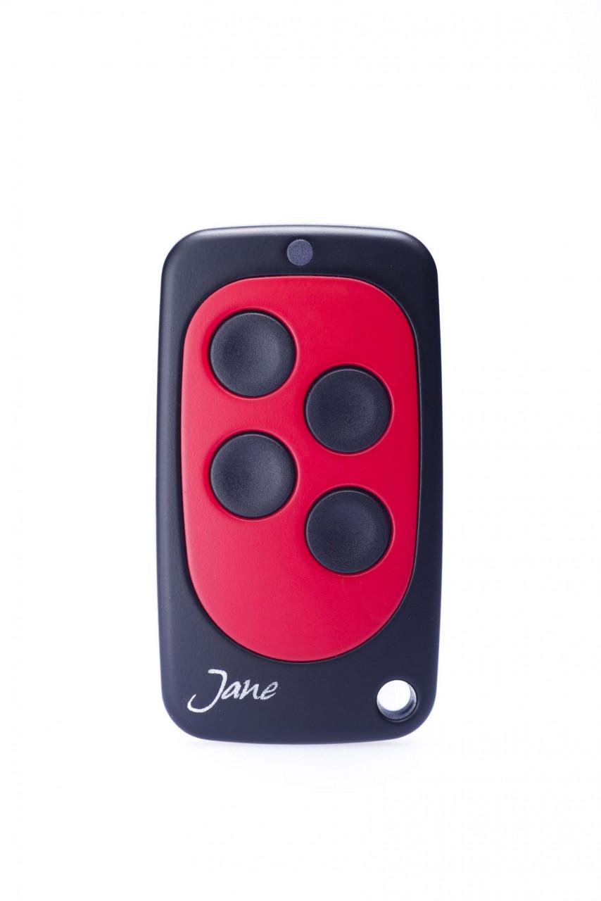 Schartec TOP01 Rot Universal Handsender 433 MHz - 868 MHz Festcode, Rollingcode und Keeloq